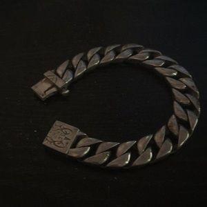 Stainless steel 9inch men's bracelet